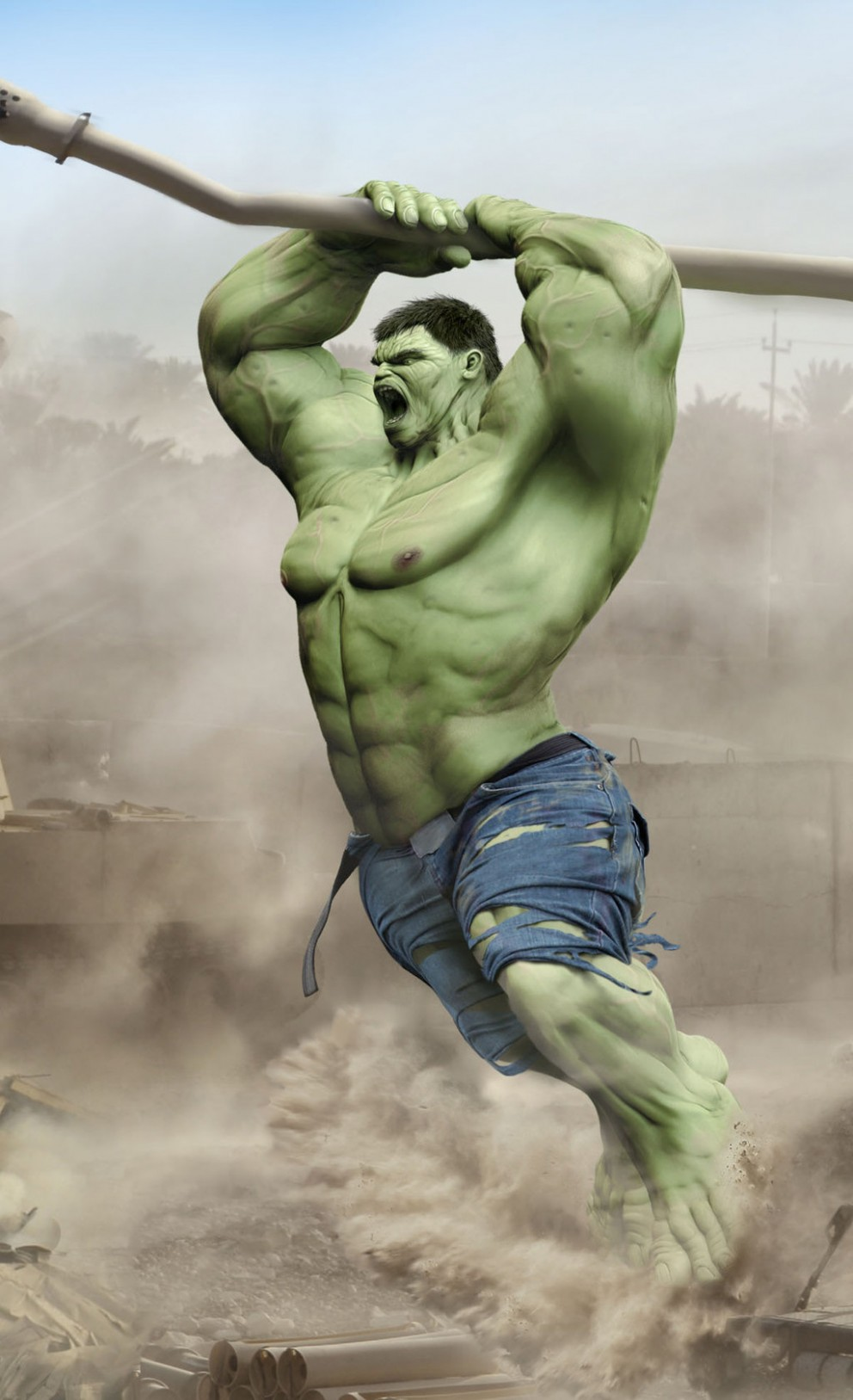 Hulk Fan Art. (Incredible Hulk Wallpaper for HTC