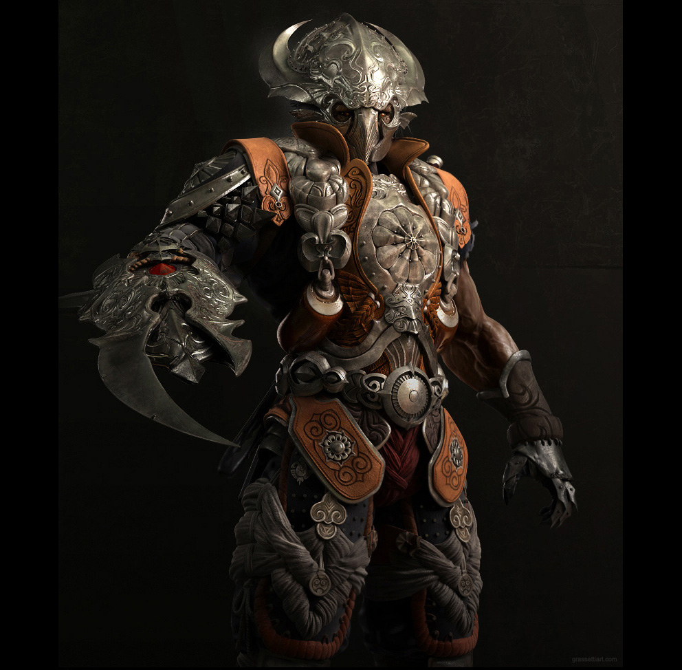 Character Design Zbrush : Character designs guardian d fantasy