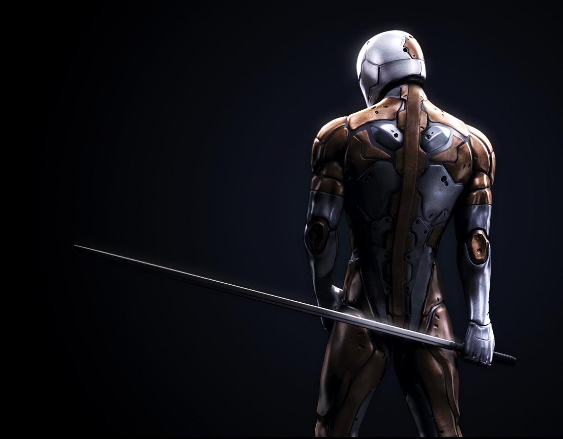 Pubg Realistic Wallpaper: Sci-Fi Christian Hecht MGS Cyborg Ninja