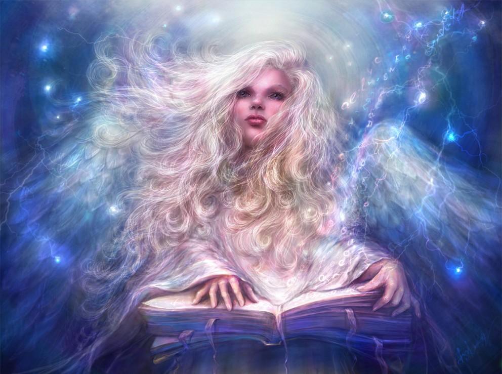 Fantasy: Angel - 2D Digital, Concept art, Fantasy ...