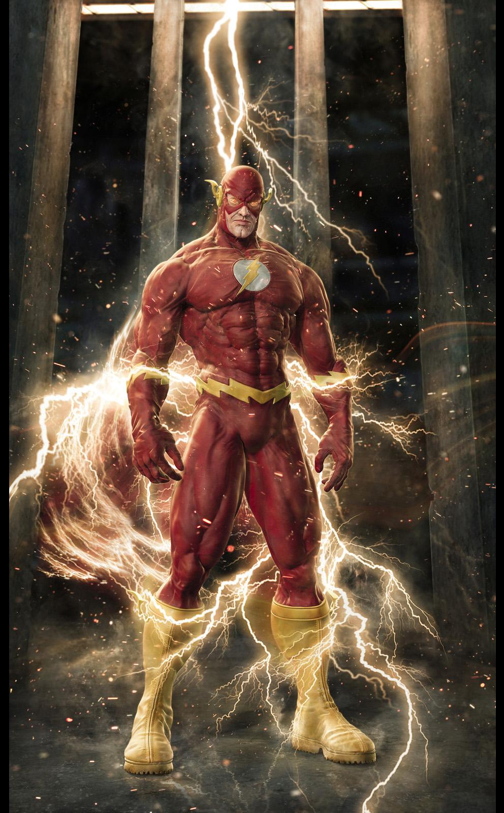 portrait: the flash – fastest man alive