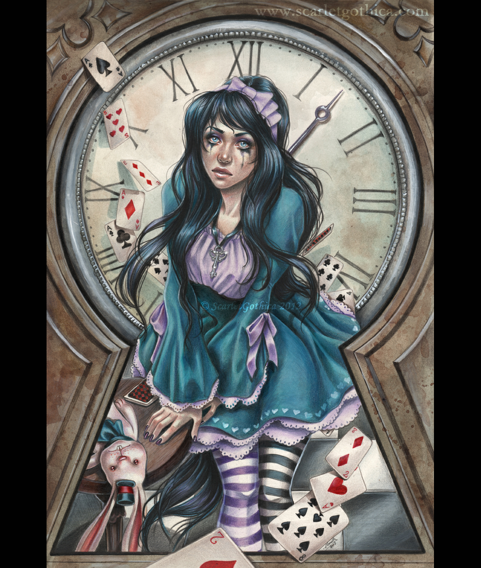 an analysis of madness in alice in wonderland Alice: madness returns' title is apt for several reasons it is the sequel to american mcgee's alice that came out in 2000 it is the sequel to american mcgee's alice that came out in 2000.