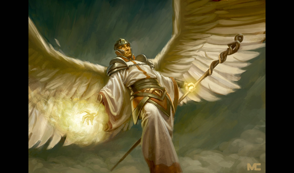 Image result for archangels and their crystals fantasy art