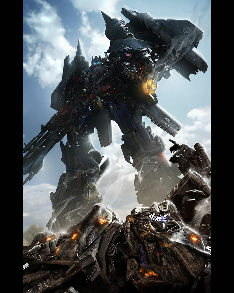 Sci Fi Transformer : Sci fi transformers revenge of the fallen d digital