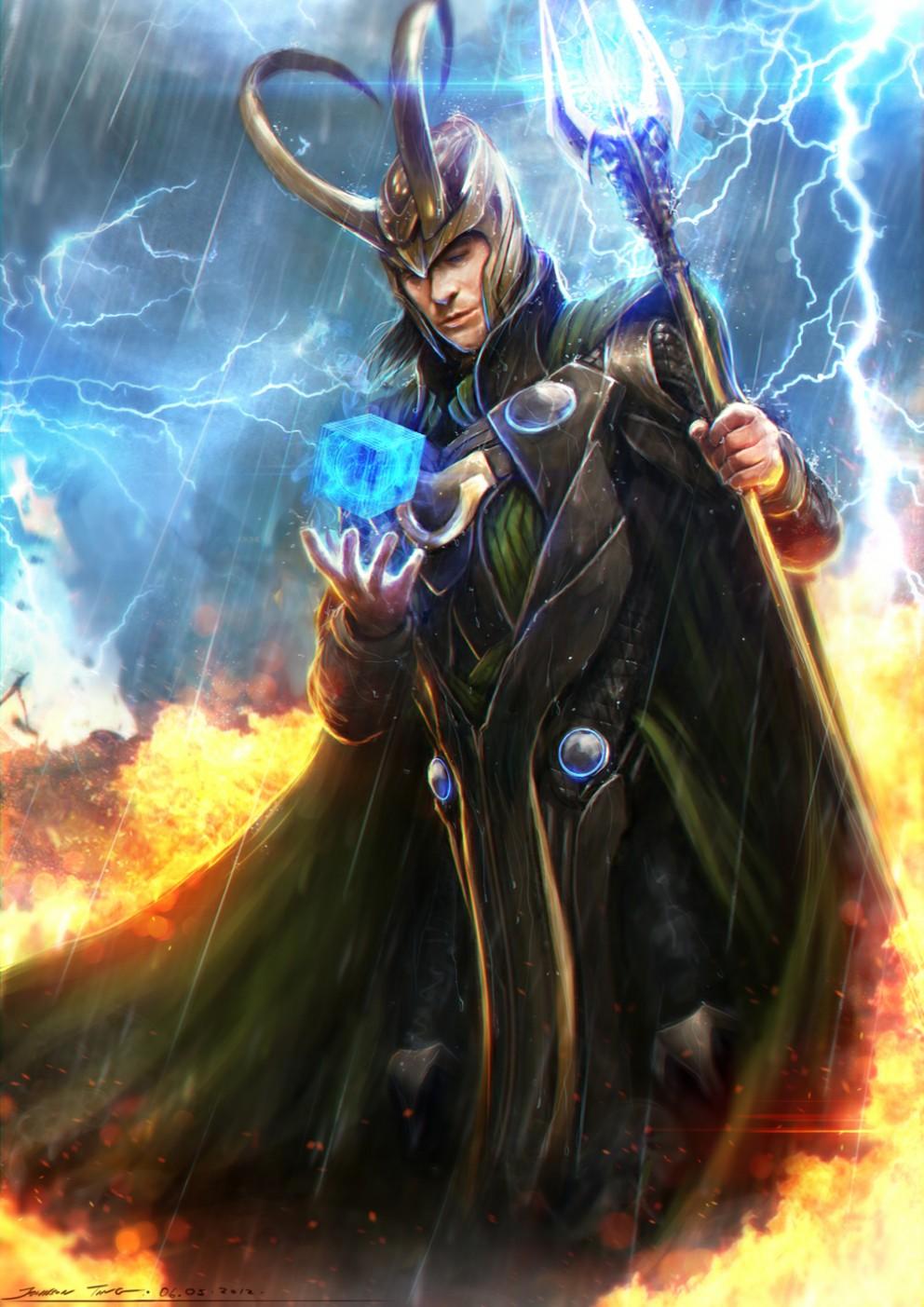 artwork gods lightning marvel - photo #21