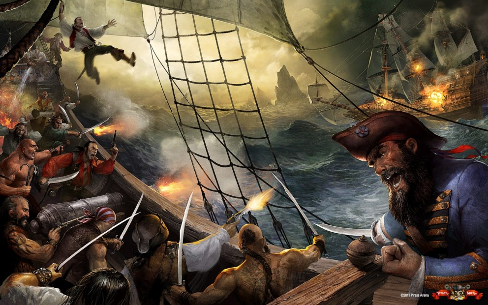Badass Pirate Fantasy Art