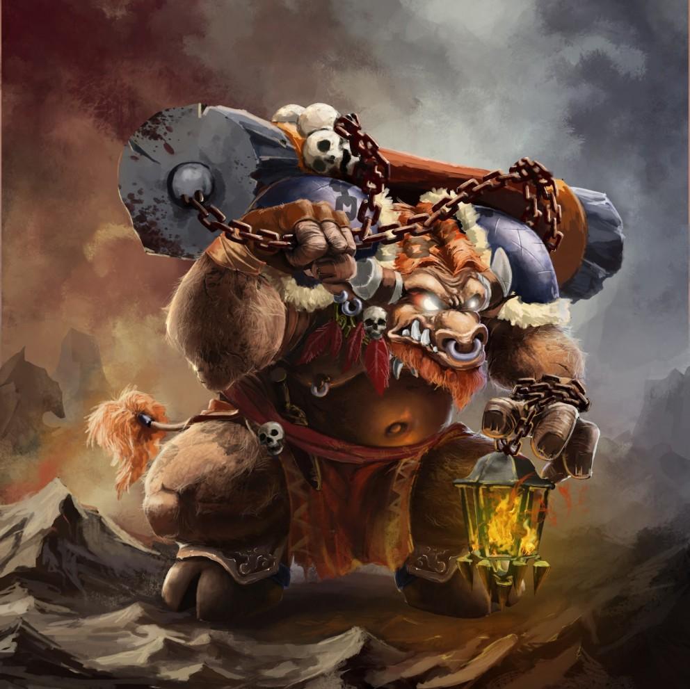 Tauren whorelore monster nsfw comic