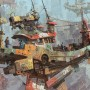 2D Art Ian McQue Arrival At Sky Harbour
