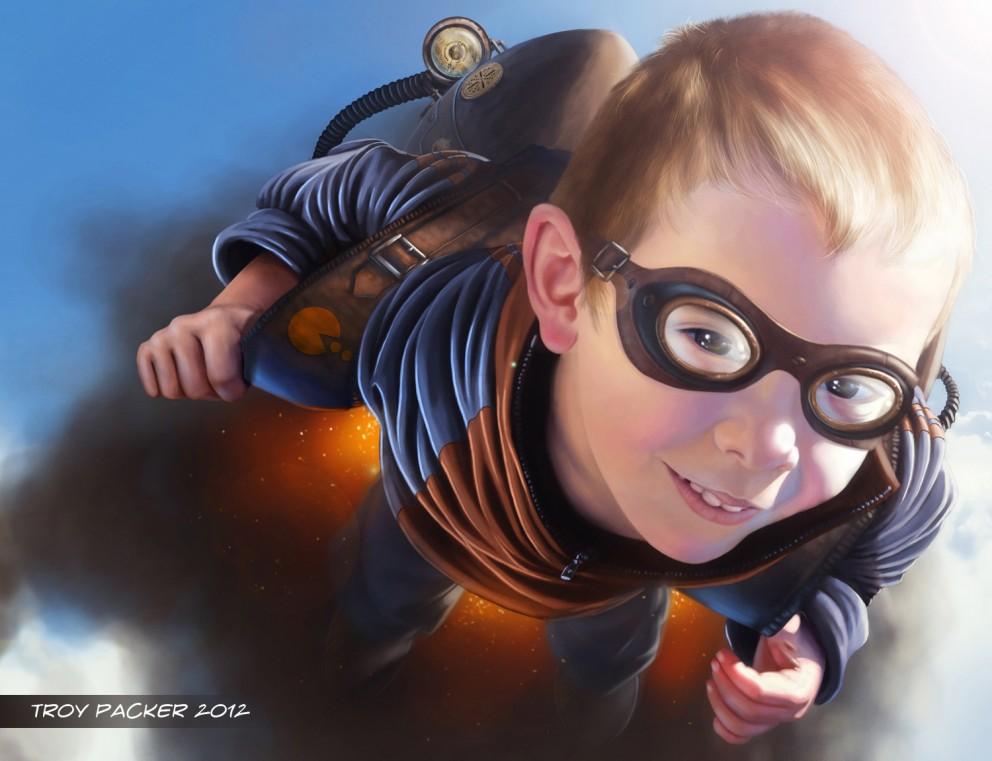 Digital Painting: Steampunk Tyler - 2D Digital, Concept art ...