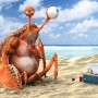 3D Art Thomas Pecha Thirsty Crab
