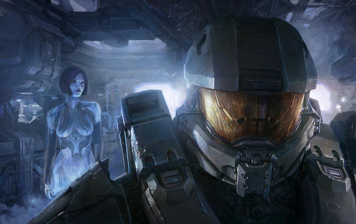 Concept Art: Halo 4 GameInformer Cover - 2D Digital ...