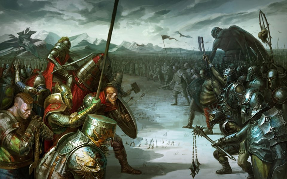 Fantasy Knight Art Download full-size image