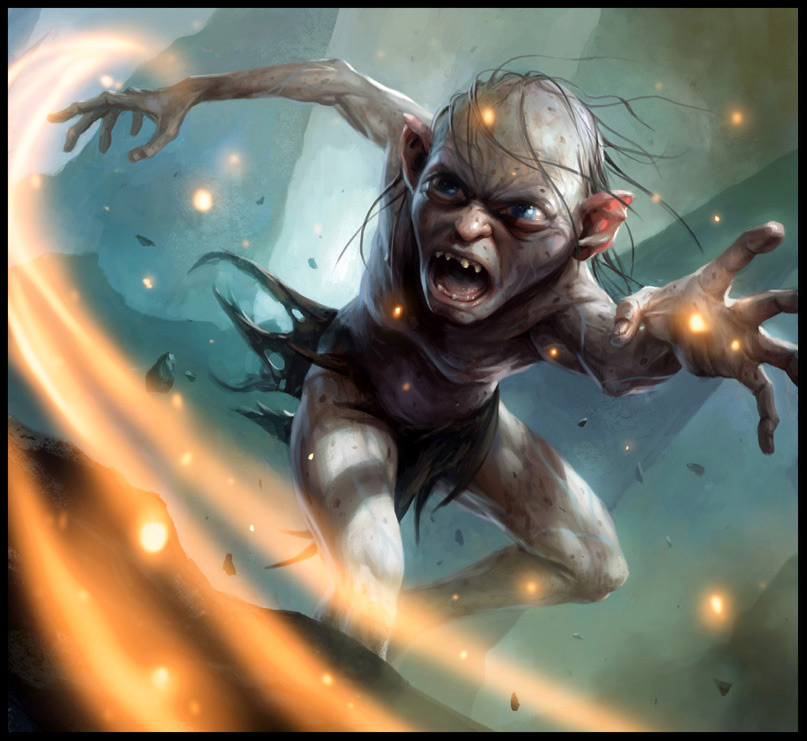 Fantasy Art Mike Lim Gollum