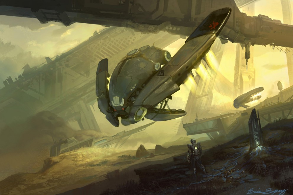 sci fi space shuttle craft - photo #16