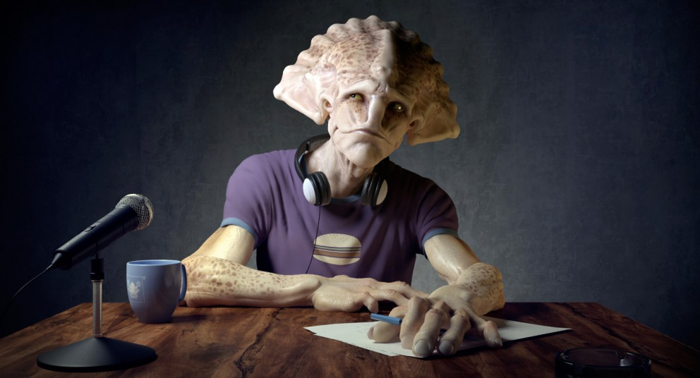 3D Art Luis Antonio The Alien Interview