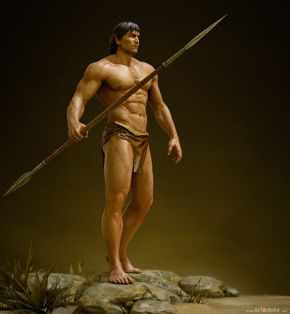 3D Art Vadim Makarenko Tarzan