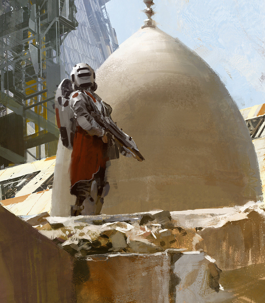 Concept Art Jaime Jones Dome