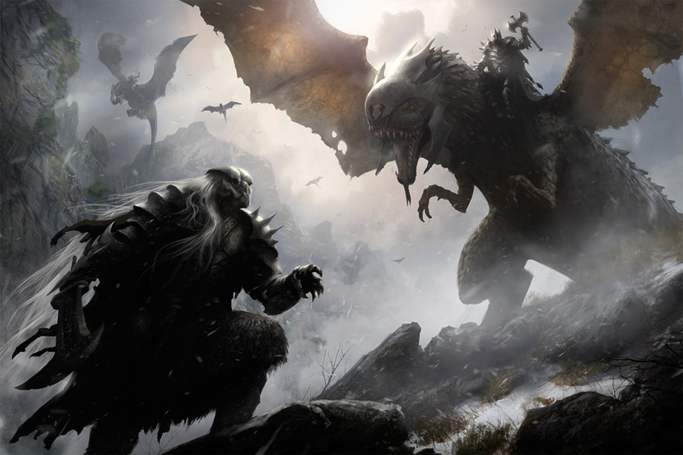 Fantasy Art Jan Ditlev Christensen Fantasy illustration