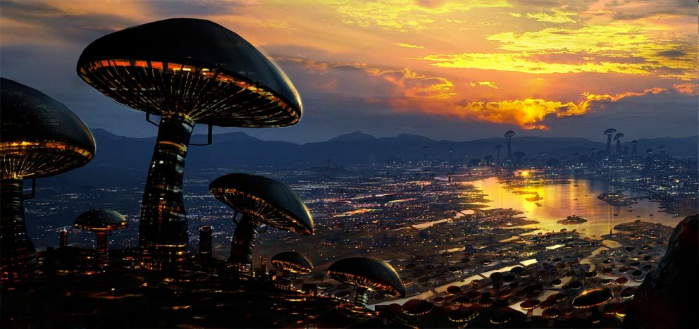 Sci-fi Art Frederic St-Arnaud Desnoyers Ville