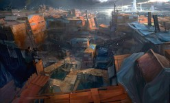 2D Art: Container City - Sniper Point