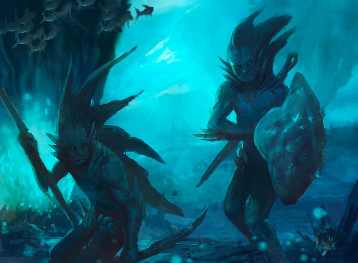 Fantasy Art Sejiri Merfolk