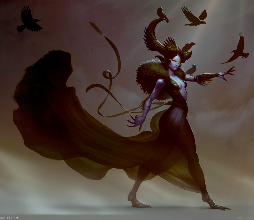 Fantasy Art Jason Bennett Maleficent
