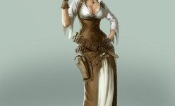 Character Design: Steampunk Star Wars - Leia