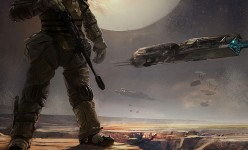 Sci-fi Art: Space Marine