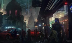 Sci-fi Art: Cold City