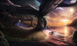 Sci-fi Art: Farthest Outpost