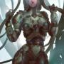 Sci-fi Art Petr Morozov Girl