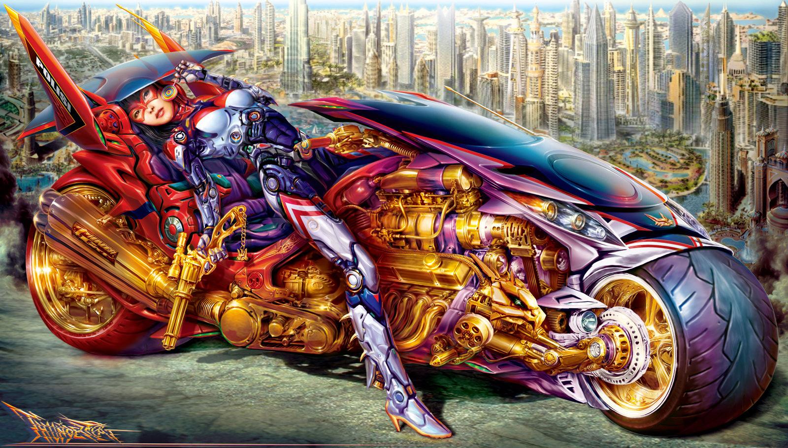 Sci fi art sricandy sabrecat