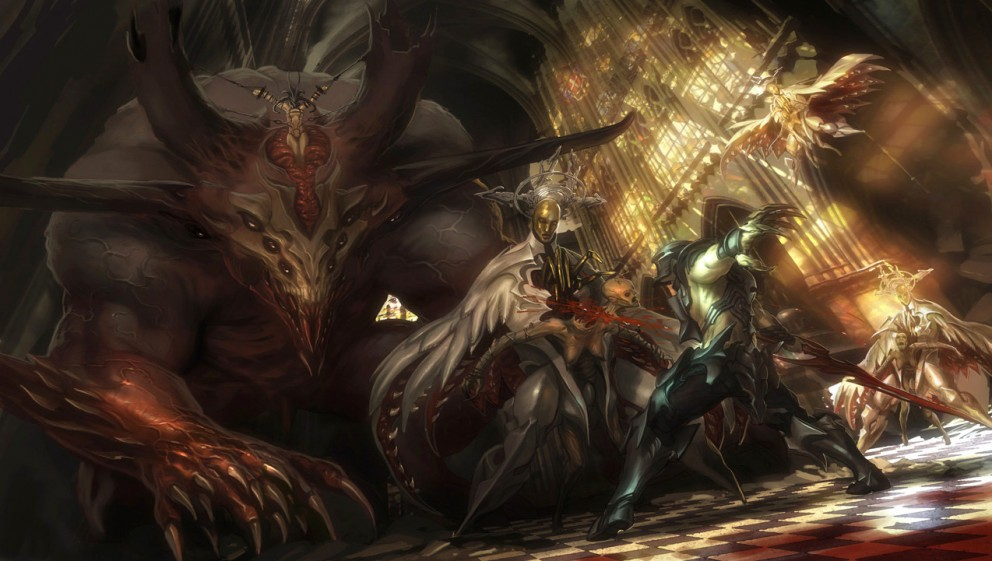 Fantasy Art Cancelled Project Concept Art