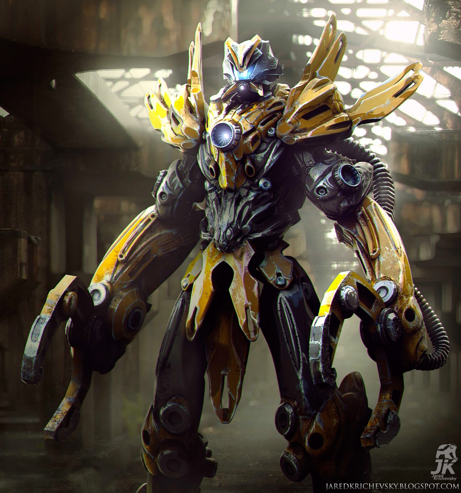 Contact - Submersible Exo Mech by *Shimmering-Sword on deviantART ...