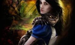 Alice and Cheshire by Omri Koresh