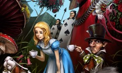 Alice in Wonderland by Luke Mancini