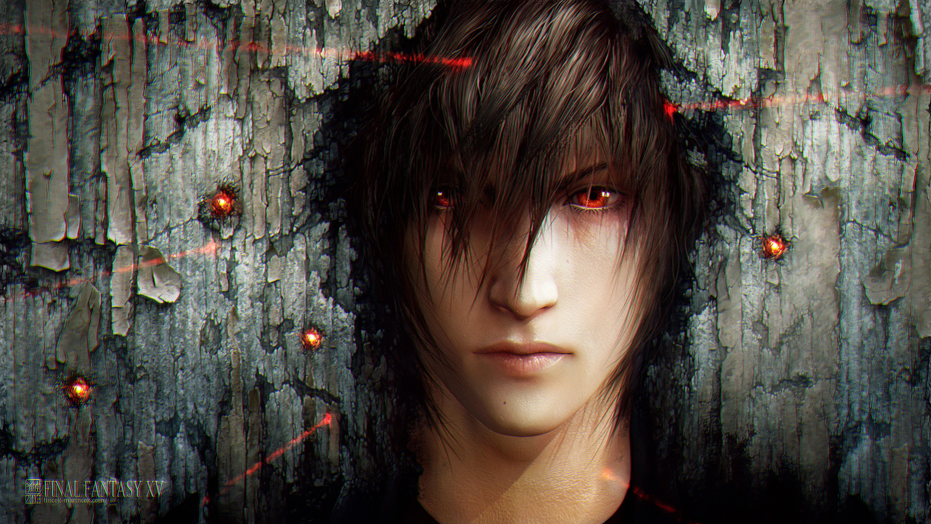 wallpaper: noctis - 2d digital, anime, videogamescoolvibe – digital art
