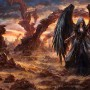 2D Art Laura Sava Azrael's Wrath