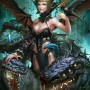 Fantasy Art Derrick Chew Lady Satan