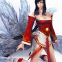 Video Game Art DaeEung Lee League of Legends Ahri