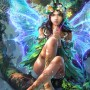 Fantasy Art Liang Xing Marvelous Fairy Raili