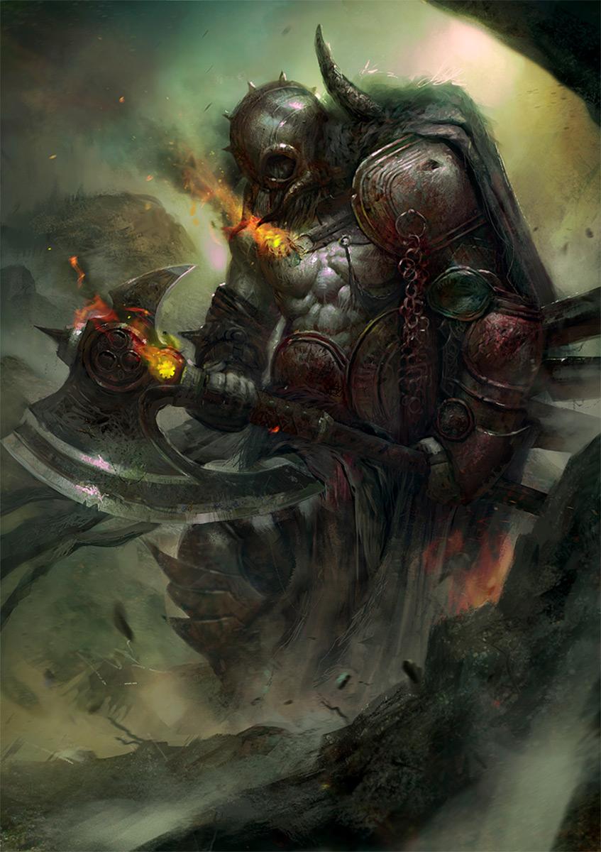 Fantasy Art: Demon Slayer - 2D Digital, FantasyCoolvibe – Digital ...