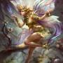 Fantasy Art Yu Cheng Hong Sylvari