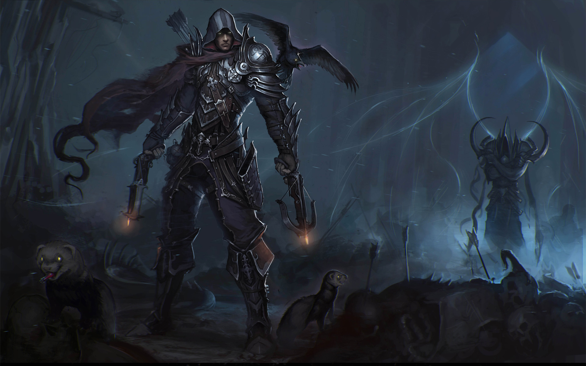 Demon hunter wallpaper movie search engine at for Demon hunter