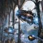 Fantasy Art Gleb Alexandrov Her Majesty's Zeppelins