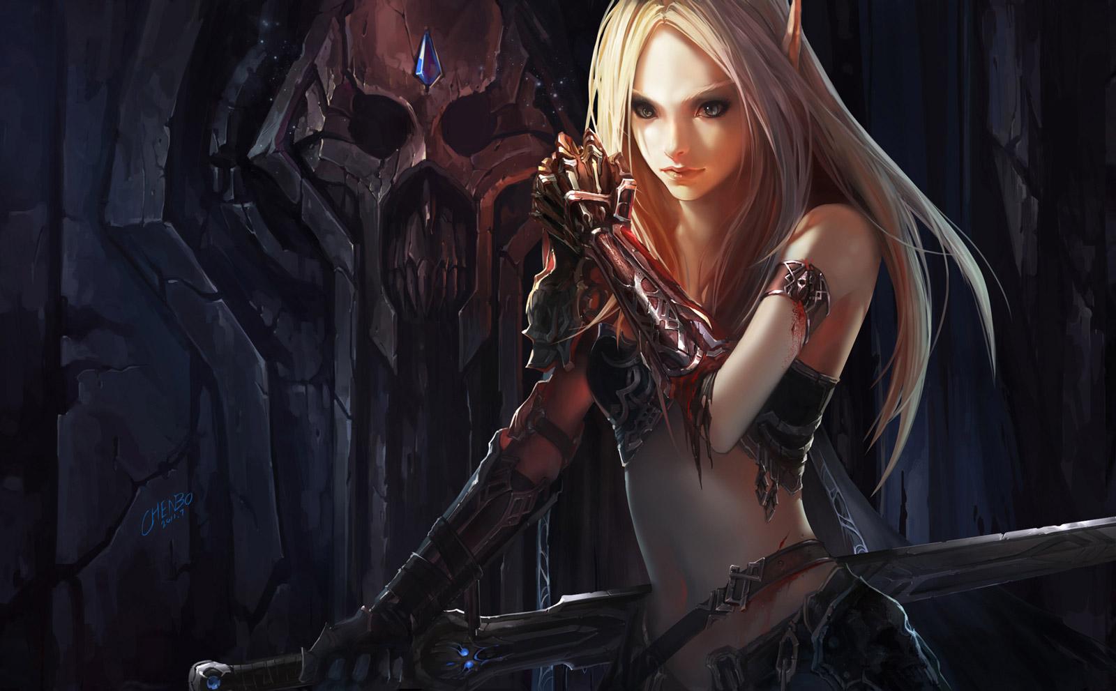 Sexy Female Blood Elf