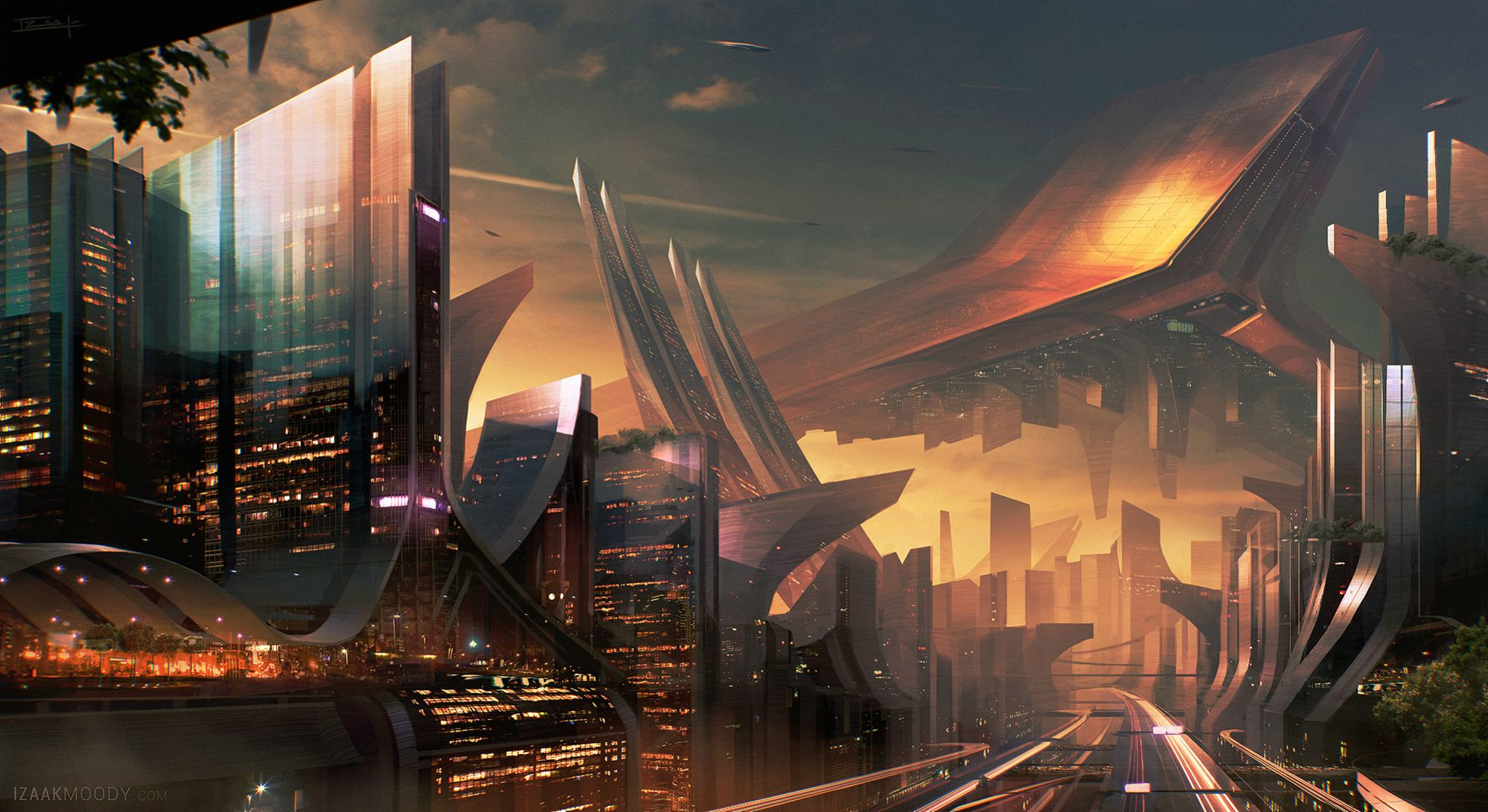 Sci-Fi Art: Environment Concept - 2D Digital, Concept art ...