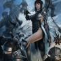 Fantasy Art Jung Myung Lee Guerreros Samurai