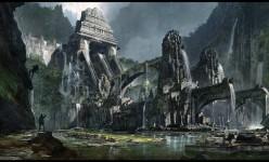 2D Art Darius Kalinauskas Entrance to Atlantis