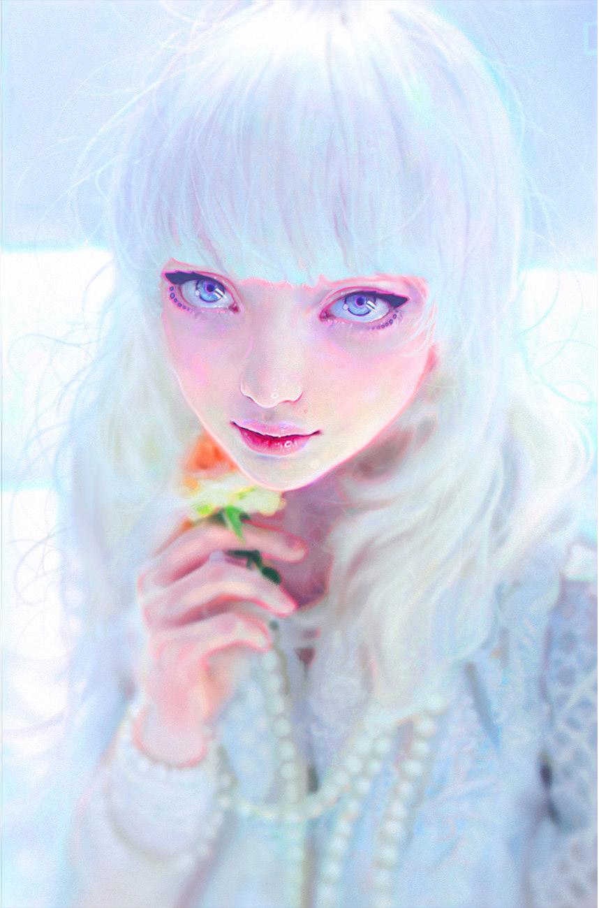 2d art white